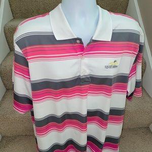 Adidas Golf PureMotion bright golf polo shirt - XL